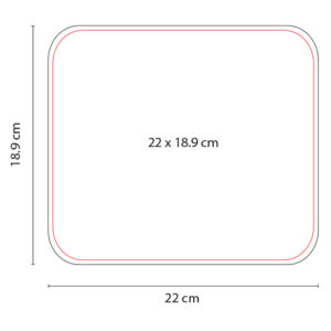 Mouse Pad Rectangular MOP 002